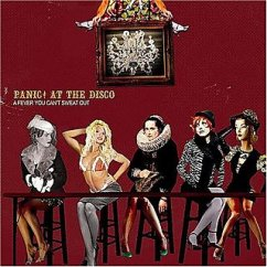 Panic! At the Disco A Fever You Can't Sweat Out CD cover