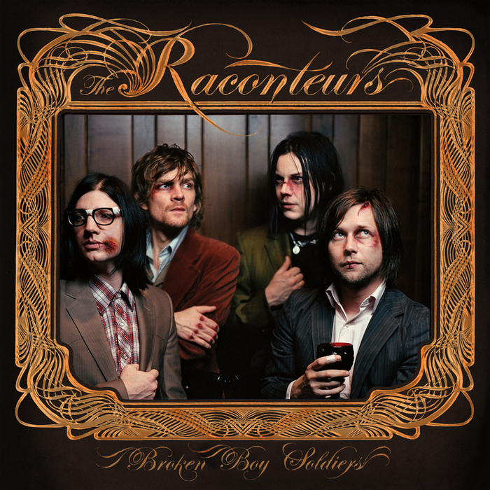 The Raconteurs Broken Boy Soldiers CD cover