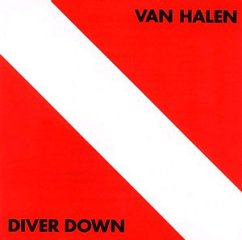 Van Halen Diver Down CD cover