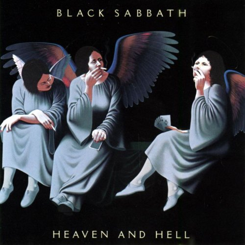 Black Sabbath heaven and Hell CD cover