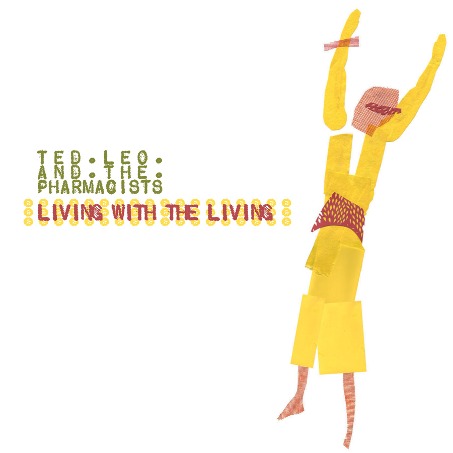 Ted Leo Living with the Living CD cover